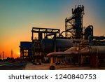 oil and gas and petrochemical... | Shutterstock . vector #1240840753