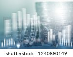 financial investment concept.... | Shutterstock . vector #1240880149