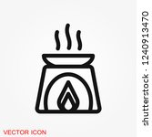 aromatherapy icon  accessory... | Shutterstock .eps vector #1240913470