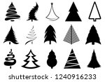 set of different christmas...   Shutterstock .eps vector #1240916233