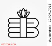 aromatherapy icon  accessory... | Shutterstock .eps vector #1240917013