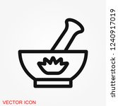 aromatherapy icon  accessory... | Shutterstock .eps vector #1240917019