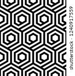 vector geometric pattern.... | Shutterstock .eps vector #1240917559