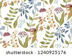 silhouettes of different... | Shutterstock .eps vector #1240925176