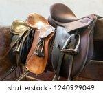 Saddle With Stirrups On...