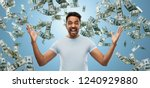 success  wealth and finances... | Shutterstock . vector #1240929880