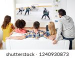 sport  people and entertainment ... | Shutterstock . vector #1240930873