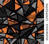 abstract seamless sport pattern ... | Shutterstock .eps vector #1240932496