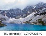 "danzhen lake  know as ""five... | Shutterstock . vector #1240933840"
