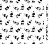 seamless pattern hand drawn...   Shutterstock .eps vector #1240945843