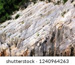 the texture of stone rocks      ... | Shutterstock . vector #1240964263