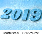new year concept. happy new... | Shutterstock . vector #1240998790