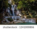 scenic waterfalls in laos   Shutterstock . vector #1241000806