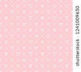 valentines day background.... | Shutterstock .eps vector #1241009650