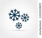 snowflake vector illustration   Shutterstock .eps vector #1241010829