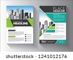 business abstract vector... | Shutterstock .eps vector #1241012176