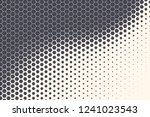 hexagon shapes vector abstract... | Shutterstock .eps vector #1241023543
