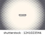 Hexagon Shapes Vector Abstract...