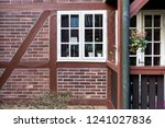 old architecture window detail... | Shutterstock . vector #1241027836
