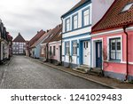 street scene from the swedish... | Shutterstock . vector #1241029483