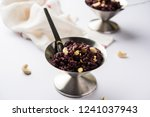 beetroot halwa garnished with...   Shutterstock . vector #1241037943