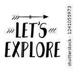 let's explore  scandinavian... | Shutterstock .eps vector #1241055973
