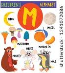 letter m.cute children's...   Shutterstock .eps vector #1241072086