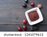 dried grape seed extract ... | Shutterstock . vector #1241079613