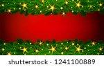 holiday illustration for... | Shutterstock . vector #1241100889