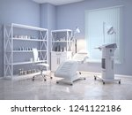 room with equipment in the... | Shutterstock . vector #1241122186