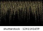 garland lights gold glitter... | Shutterstock .eps vector #1241141659