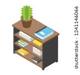 official directories flat icon... | Shutterstock .eps vector #1241146066
