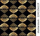 beautiful japanese seamless... | Shutterstock .eps vector #1241156119