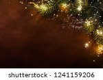 2019. christmas and new years... | Shutterstock . vector #1241159206