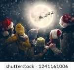 merry christmas and happy... | Shutterstock . vector #1241161006
