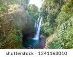 famous aling aling waterfall... | Shutterstock . vector #1241163010