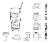vector illustration of drink...   Shutterstock .eps vector #1241164009