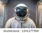 soviet cosmonaut or astronaut... | Shutterstock . vector #1241177500