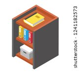 official directories flat icon... | Shutterstock .eps vector #1241182573