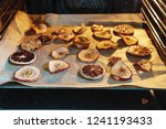 homemade slices of dried... | Shutterstock . vector #1241193433