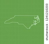 vector map of north carolina   Shutterstock .eps vector #1241210203