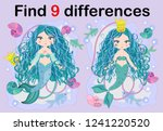 find the difference the two... | Shutterstock .eps vector #1241220520