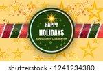 anniversary celebration... | Shutterstock .eps vector #1241234380
