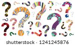 vector illustration of colorful ... | Shutterstock .eps vector #1241245876