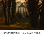 old iron pavilion at a sunny...   Shutterstock . vector #1241247466