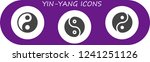 vector icons pack of 3 filled... | Shutterstock .eps vector #1241251126