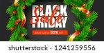 black friday. festive price... | Shutterstock .eps vector #1241259556