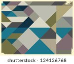abstract retro background | Shutterstock .eps vector #124126768