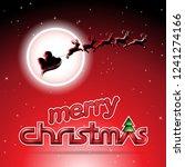 vector illustration of santa...   Shutterstock .eps vector #1241274166