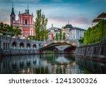 tromostovje bridge and... | Shutterstock . vector #1241300326